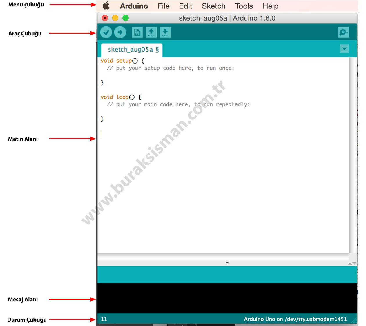 Arduino Burak Sisman Phd